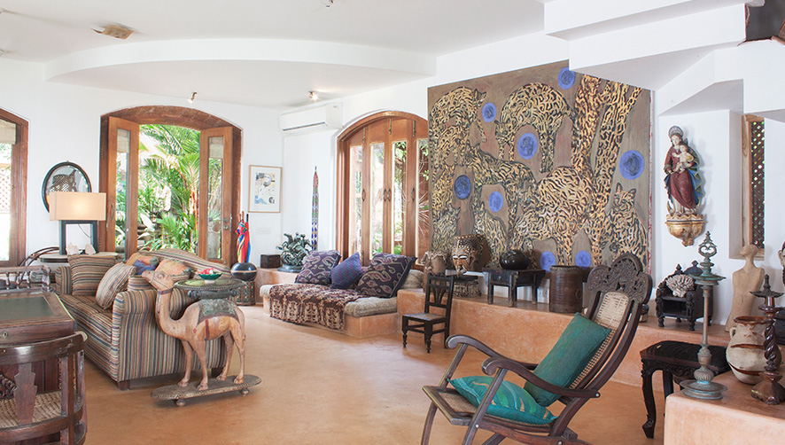 Charming Goa Boutique Hotel Living room image 1