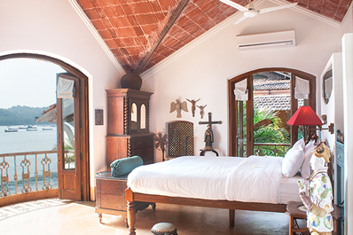Charming Goa Boutique Hotel Trinidade suite image 2 b